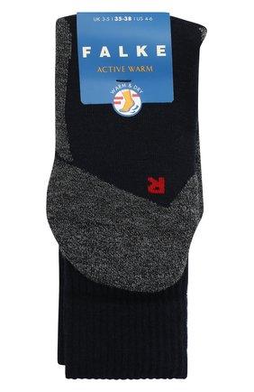 Детские носки FALKE темно-синего цвета, арт. 10450. | Фото 1