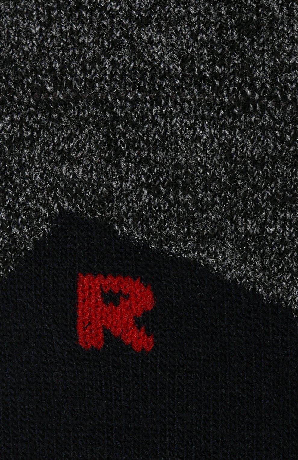 Детские носки FALKE темно-синего цвета, арт. 10450. | Фото 2