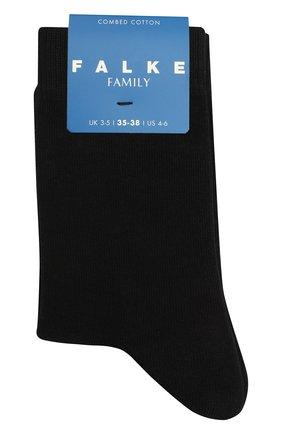 Детские носки FALKE черного цвета, арт. 10645. | Фото 1