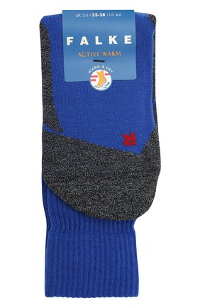 Детские носки FALKE синего цвета, арт. 10450. | Фото 1
