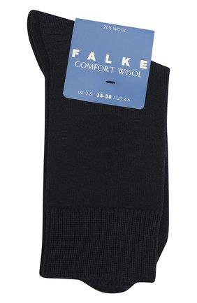 Детские носки FALKE темно-синего цвета, арт. 10488. | Фото 1