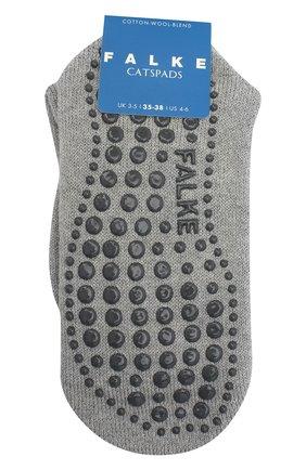 Детские хлопковые носки FALKE серого цвета, арт. 10500. | Фото 1