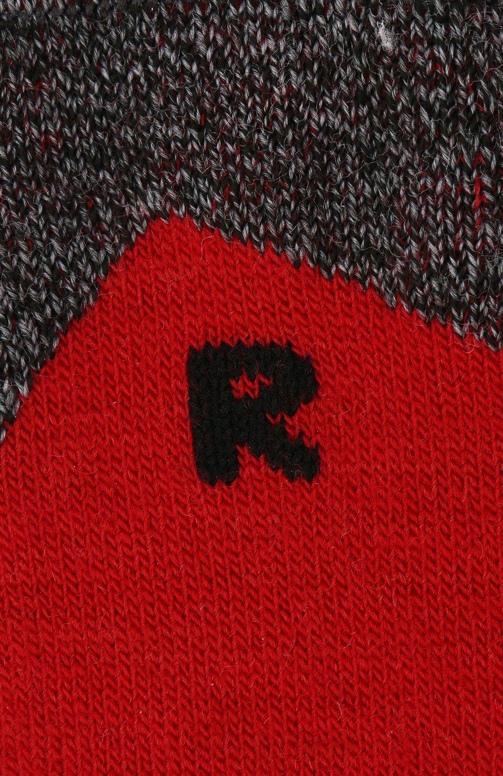 Детские носки FALKE красного цвета, арт. 10450.   Фото 2 (Материал: Текстиль)