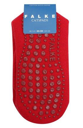 Детские хлопковые носки FALKE красного цвета, арт. 10500. | Фото 1