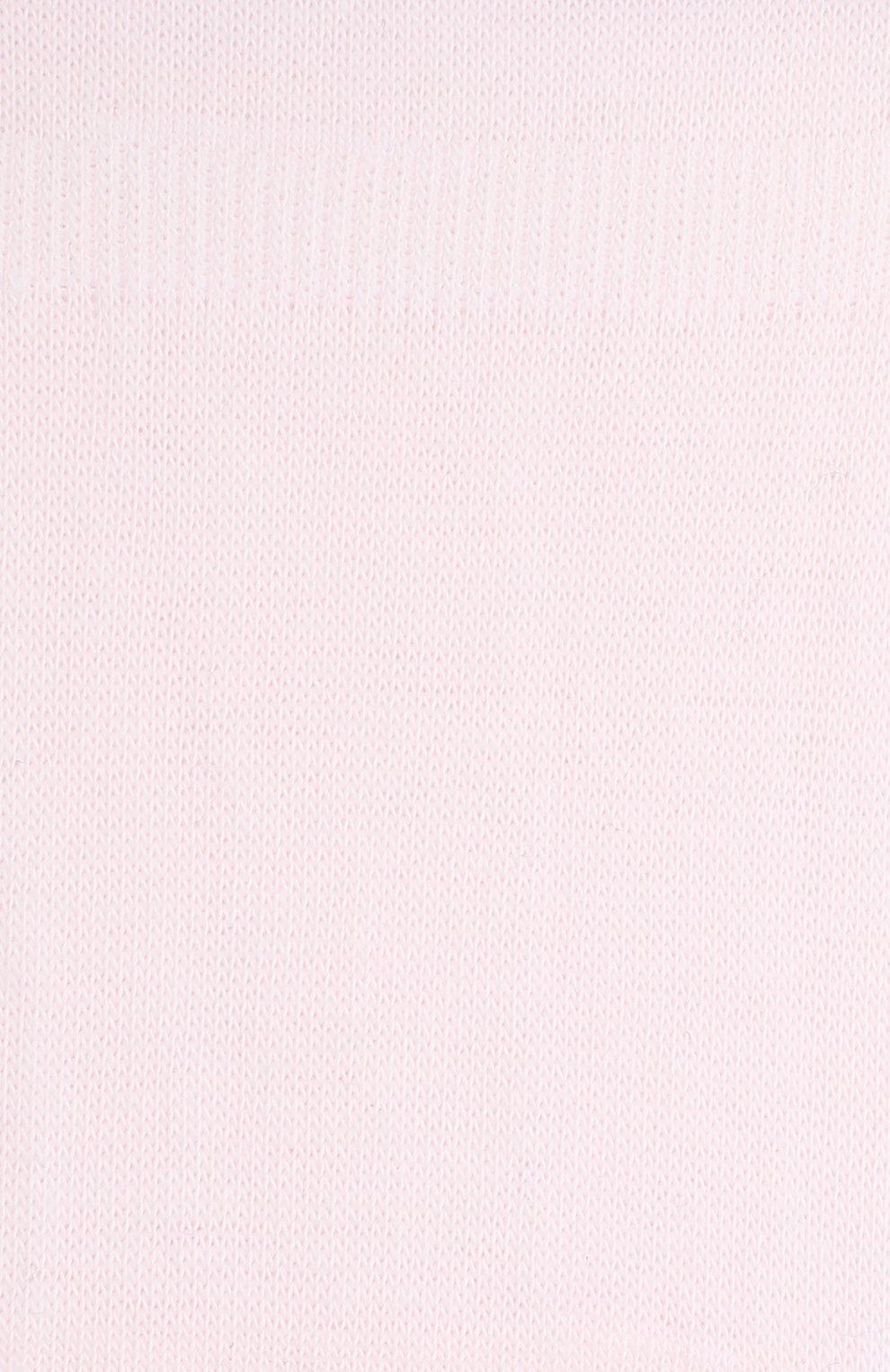 Детские носки FALKE светло-розового цвета, арт. 10694.   Фото 2 (Материал: Текстиль, Хлопок)