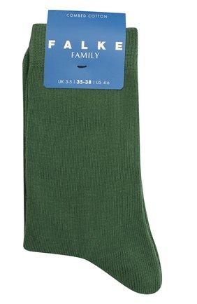 Детские носки FALKE зеленого цвета, арт. 10645. | Фото 1