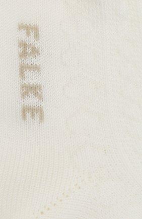 Детские хлопковые носки FALKE бежевого цвета, арт. 12120. | Фото 2