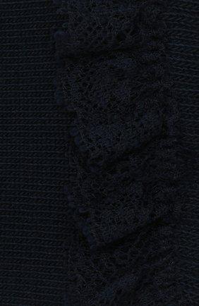 Детские хлопковые носки FALKE темно-синего цвета, арт. 12121. | Фото 2