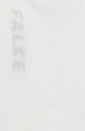 Детские хлопковые носки FALKE белого цвета, арт. 12120. | Фото 2