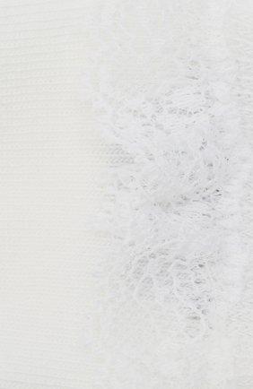 Детские хлопковые носки FALKE белого цвета, арт. 12121. | Фото 2