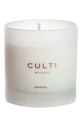 Мужского ароматическая свеча bianco mendula CULTI MILANO бесцветного цвета, арт. 8050534796544 | Фото 1