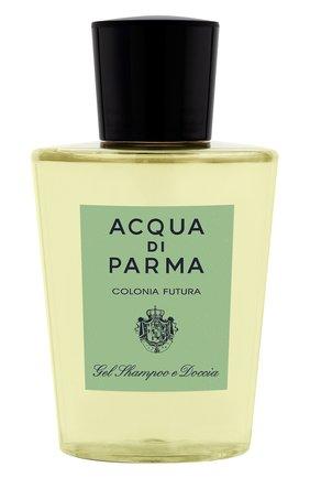 Шампунь для волос и тела colonia futura ACQUA DI PARMA бесцветного цвета, арт. 28020 | Фото 1
