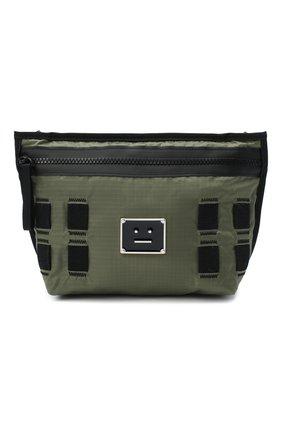 Мужская текстильная сумка ACNE STUDIOS хаки цвета, арт. C10041/M | Фото 1