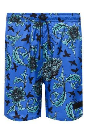 Детского плавки-шорты GIVENCHY синего цвета, арт. BMA00H1Y5N | Фото 1