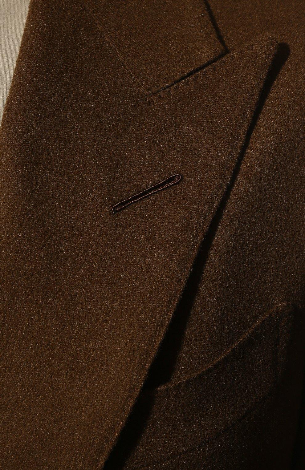 Мужской кашемировый пиджак TOM FORD светло-коричневого цвета, арт. Q29R12/15HA40 | Фото 5