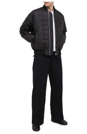Мужские кожаные лоферы BOTTEGA VENETA черного цвета, арт. 640216/VBS21 | Фото 2