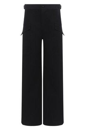 Мужские хлопковые брюки-карго BOTTEGA VENETA черного цвета, арт. 639988/V08U0 | Фото 1