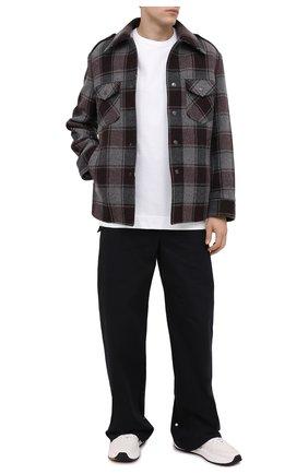 Мужские хлопковые брюки-карго BOTTEGA VENETA черного цвета, арт. 639988/V08U0 | Фото 2