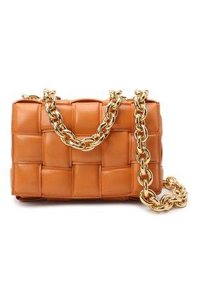 Женская сумка chain cassette BOTTEGA VENETA бежевого цвета, арт. 631421/VBWZ0 | Фото 6