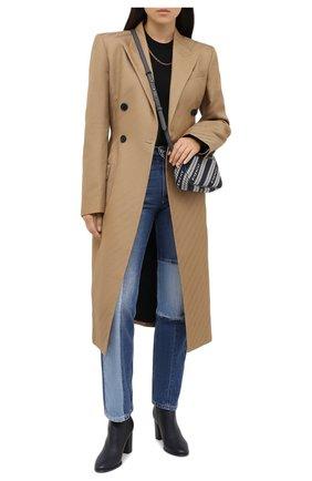Женские кожаные ботильоны stivaletto elsa LE SILLA серого цвета, арт. 7071R080R3PPBUK | Фото 2