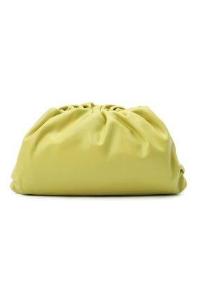 Женский клатч pouch BOTTEGA VENETA светло-зеленого цвета, арт. 576227/VCP40   Фото 1