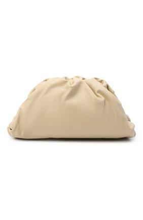 Женский клатч pouch BOTTEGA VENETA светло-бежевого цвета, арт. 576227/VCP40 | Фото 1