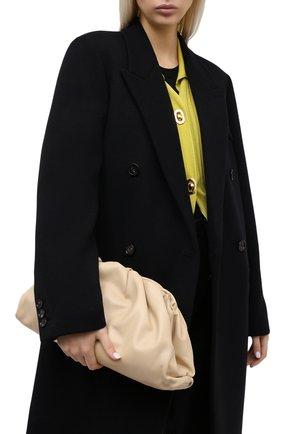 Женский клатч pouch BOTTEGA VENETA светло-бежевого цвета, арт. 576227/VCP40 | Фото 2