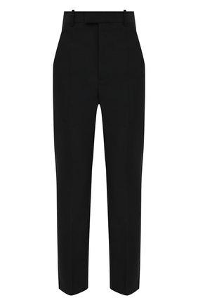 Женские шерстяные брюки BOTTEGA VENETA черного цвета, арт. 628898/VKX00 | Фото 1