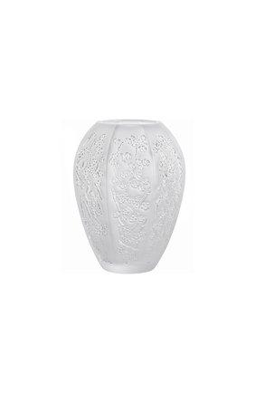 Мужского ваза sakura средняя LALIQUE прозрачного цвета, арт. 10723300 | Фото 1