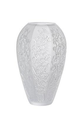 Мужского ваза sakura большая LALIQUE прозрачного цвета, арт. 10723700 | Фото 1