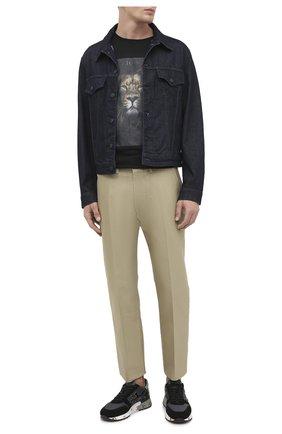 Мужские комбинированные кроссовки mick PREMIATA черного цвета, арт. MICK/VAR5017 | Фото 2