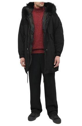 Мужские кожаные ботинки cublon BALLY черного цвета, арт. CUBL0N/100 | Фото 2