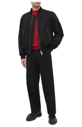Мужской кожаные дерби lysander BALLY черного цвета, арт. LYSANDER/30 | Фото 2