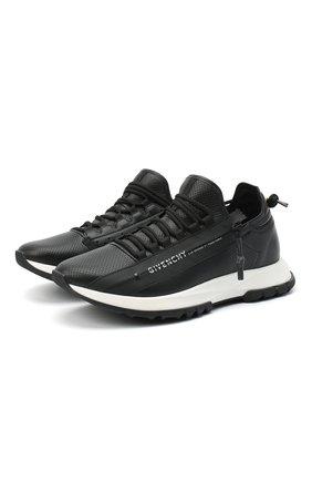 Мужские кожаные кроссовки spectre GIVENCHY черного цвета, арт. BH003MH0NJ | Фото 1