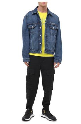 Мужские кожаные кроссовки spectre GIVENCHY черного цвета, арт. BH003MH0NJ | Фото 2