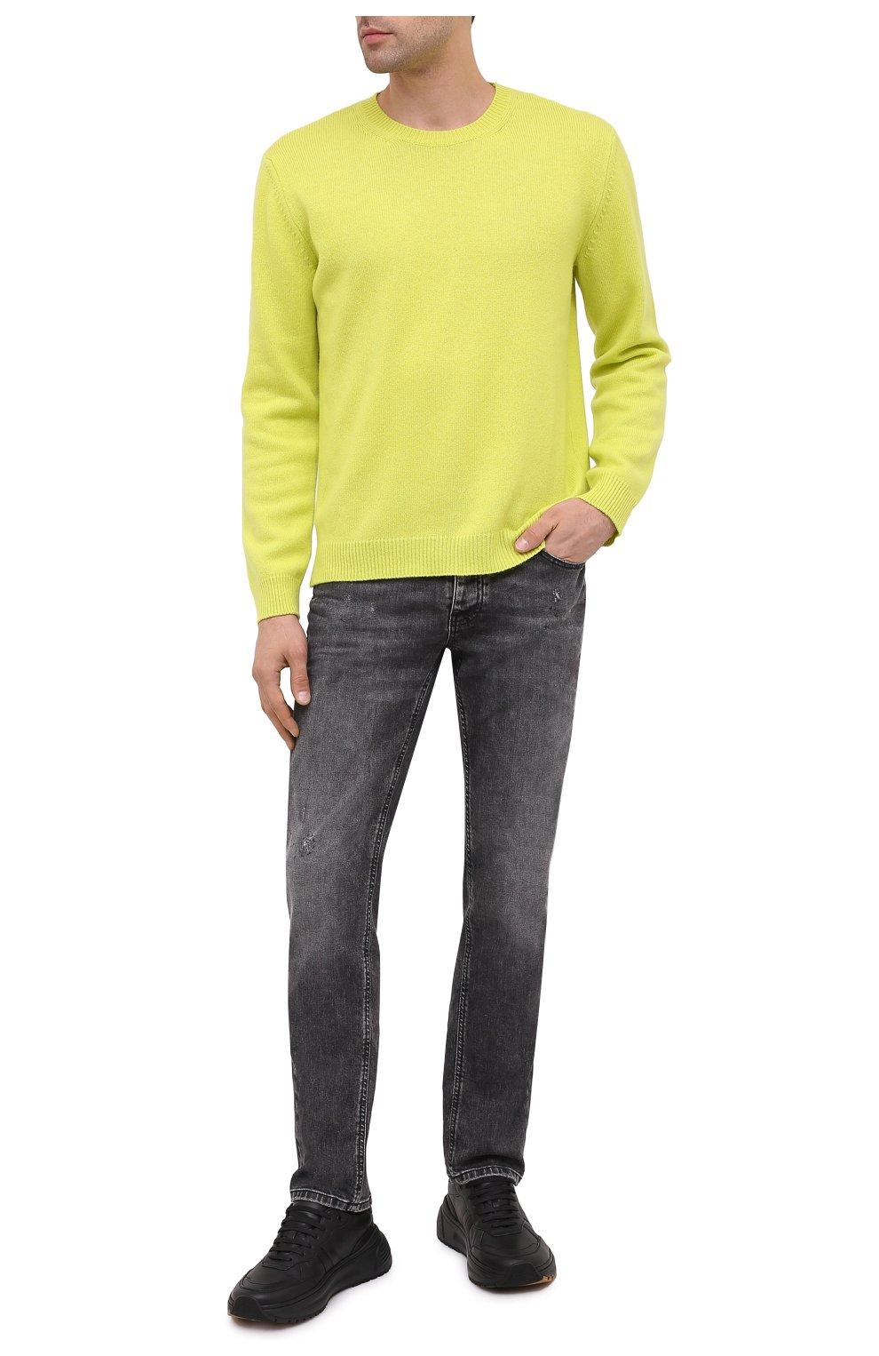 Мужские джинсы PREMIUM MOOD DENIM SUPERIOR серого цвета, арт. F21 417234651/R0BERT | Фото 2