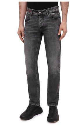 Мужские джинсы PREMIUM MOOD DENIM SUPERIOR серого цвета, арт. F21 417234651/R0BERT | Фото 3