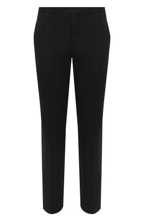 Мужской брюки NEIL BARRETT черного цвета, арт. PBPA806A/P028 | Фото 1