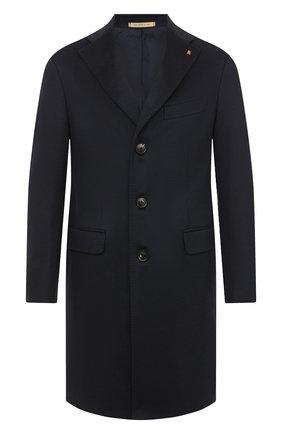 Мужской кашемировое пальто SARTORIA LATORRE темно-синего цвета, арт. A0STA U8175X | Фото 1