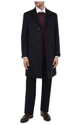 Мужской кашемировое пальто SARTORIA LATORRE темно-синего цвета, арт. A0STA U8175X | Фото 2