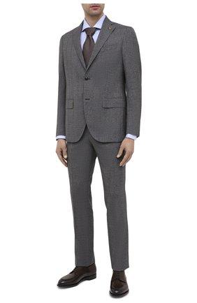 Мужской шерстяной костюм SARTORIA LATORRE темно-серого цвета, арт. A6I7EF A40711 | Фото 1