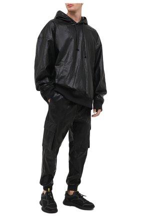 Мужской джоггеры JUUN.J черного цвета, арт. JC0921P375 | Фото 2