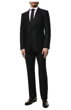 Мужской шерстяной костюм TOM FORD темно-синего цвета, арт. Q31R14/21AL43 | Фото 1