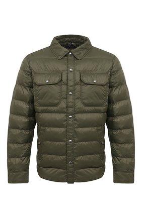 Мужская утепленная куртка POLO RALPH LAUREN темно-зеленого цвета, арт. 710810901 | Фото 1