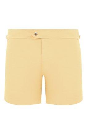 Мужские плавки-шорты TOM FORD желтого цвета, арт. BV666/TFB450   Фото 1