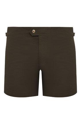 Мужские плавки-шорты TOM FORD хаки цвета, арт. BV666/TFB450 | Фото 1