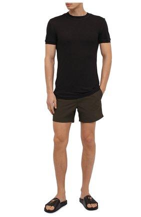 Мужские плавки-шорты TOM FORD хаки цвета, арт. BV666/TFB450 | Фото 2