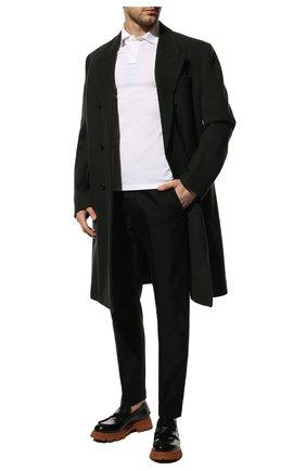 Мужские хлопковые брюки TOM FORD черного цвета, арт. BV141/TFP224 | Фото 2