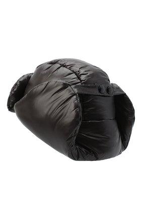 Мужская утепленная шапка DRIES VAN NOTEN черного цвета, арт. 202-20609-1178 | Фото 2