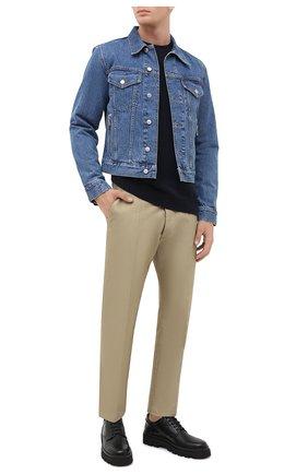 Мужской свитер STELLA MCCARTNEY темно-синего цвета, арт. 601883/S7214 | Фото 2